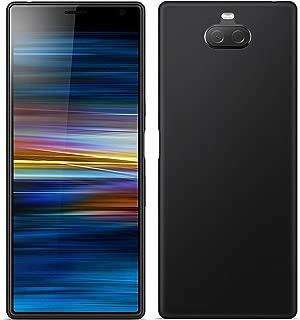 TBOC Funda de Gel TPU Negra para Sony Xperia L3 I3312 I3322 I4312 I4332 5.7 Pulgadas Carcasa de Silicona Ultrafina y Flexible para Tel/éfono M/óvil