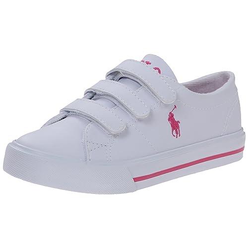 1a74b1d353914f Polo Ralph Lauren Kids Scholar EZ Fashion Sneaker (Toddler Little Kid)
