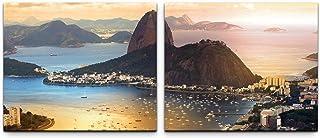 SIN-US 74 Rio De Janeiro bild kanvas färdig på ram 2 bilder a 50 x 60 cm