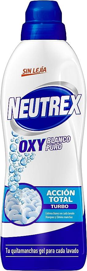 Neutrex Oxy Quitamanchas Líquido Sin Lejía para la ropa ...