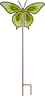 Attraction Design Butterfly Garden Stake Decorative Butterfly Yard Stake, Cute Insect Decor Metal Yard Art Decor Outdoor G...