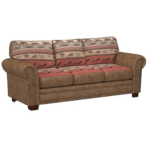 Rustic Couch Amazon Com