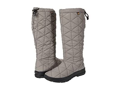 Bogs Snowday Tall (Gray) Women