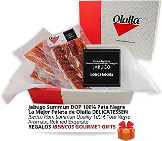 Estuche Paleta de Jamon Iberico de Bellota 100% DOP Jabugo S
