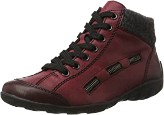 Women's L6543 Hi-Top Trainers, Red (Wine/Anthrazit 35), 5 UK