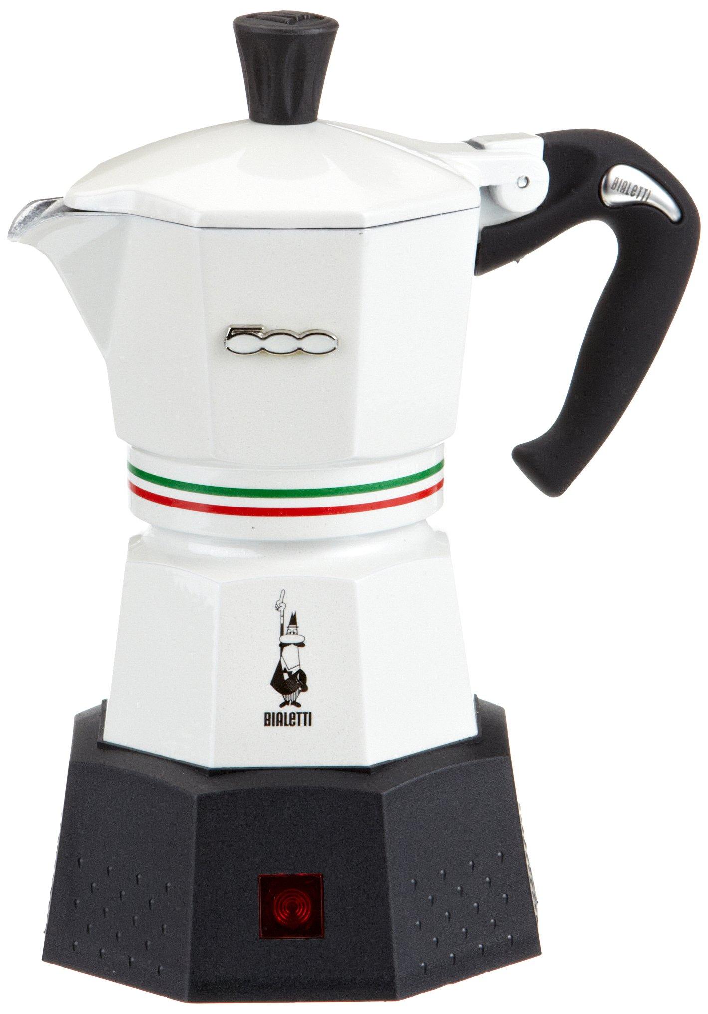 Bialetti Elektrika Fiat 500 - Cafetera italiana eléctrica (3 tazas ...
