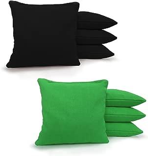 8 Standard Corn Filled Regulation Duck Cloth Cornhole Bags