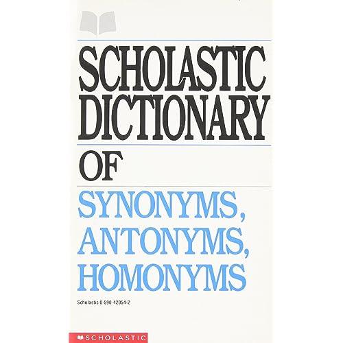 Synonym and Antonyms: Amazon com