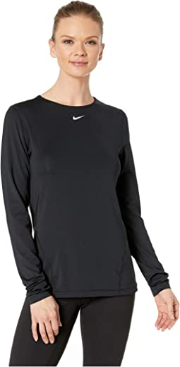 Pro All Over Mesh Long Sleeve Top