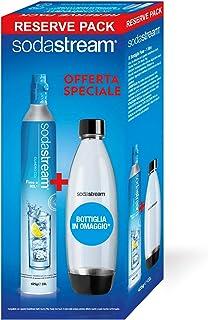 Sodastream Cylindre 60L + fusible Bouteille 1L–Gazéificateur Accessoires et fournitures (Boîte)