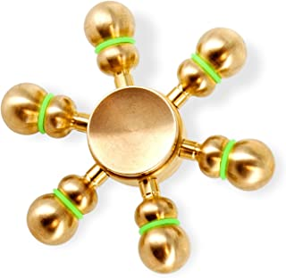 Tenergy Heavy Duty Solid Brass Copper Premium Finger Spinner, R188 Bearing, 4 to 5 Minutes Spinning