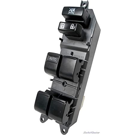Window Switch Power Window Switch Master Control Window Switch Replacement Parts fits for TOYOTA CAMRY 2007-2009 TOYOTA TACOMA 2013 TOYOTA YARIS 2007-2010