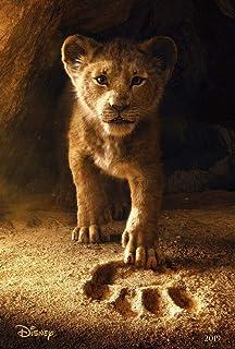 映画ポスター ライオンキング The Lion King グッズ/ディズニー 実写 インテリア おしゃれ フレームなし/INT-ADV-両面
