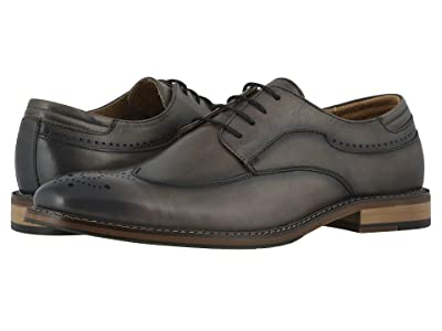 Stacy Adams Fletcher Wing Tip Oxford (Gray) Men