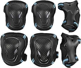 Kit de Protection Enfant Doux Coudi/ère /& Genouill/ère pour Skateboard Roller V/élo Patin /à Glace Scooter BMX Bicyclette Patinage,Sets de Protection Enfant