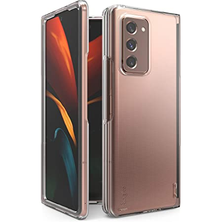 Ringke Slim Compatible with Galaxy Z Fold 2 Case, Slim Durable Solid PC Protective Cover - Clear
