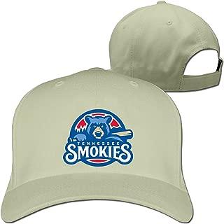 Men Women Tennessee Smokies primary Sport Baseball Visor Hat Hiphop (6 colours)