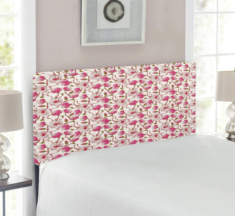 Ambesonne Flower Headboard Washington Mall Romantic Bursting Branches Ranking TOP16 in Spring