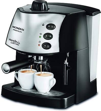 Maquina de Cafe Espresso Coffee Cream, 220V, Mondial C-08, Preto, Mondial, Maquina de Cafe