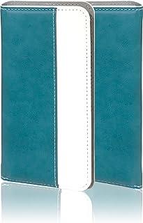 GRANBEAT DP-CMX1(B) 手帳型ケース ターコイズ PUレザー 磁気カードの磁気不良防止機構 マグネットなし バイカラー dpcmx1 ターコイズ