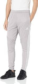 adidas Men's Tiro 19 Training Soccer Pants, Tiro '19 Pants, Grey/White/Light Granite/Grey, X-Small