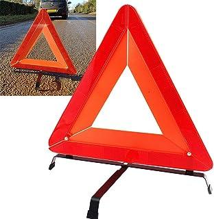 pieghevole e riflettente 26 x 25 x 23 cm red triangolo di sicurezza conico per emegency Traffic Segnale di avvertimento per auto