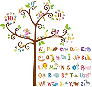 alphabet tree decal