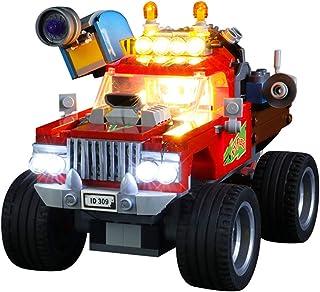 Led Lighting Kit for Lego (Hidden Side El Fuego's Stunt Truck) Compatible with LEGO 70421 Building Blocks Model, Not Inclu...
