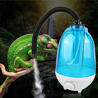 DFFng Humidificador de Reptiles de 3L, terrarios de nebulización, humidificador de Serpiente, Suministros de recinto, seño...