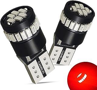 AUXITO Super Bright Brilliant Red LED Bulbs 168 175 194 2825 W5W T10 921 912 24