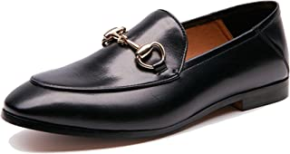 Women's Horsebit-Detailed Leather Loafers
