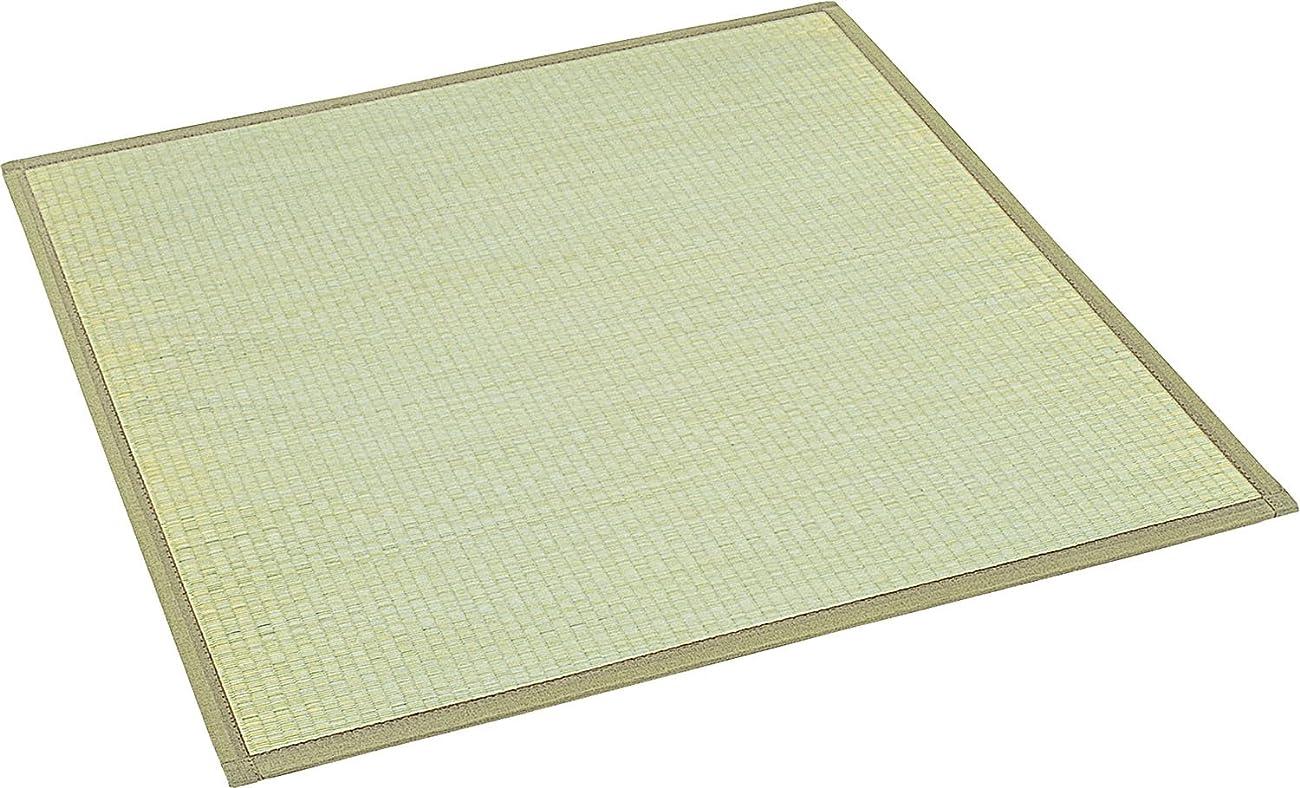 大島屋 ユニット畳 椿 い草 ふんわり フロアー畳 約82×164×1.5cm