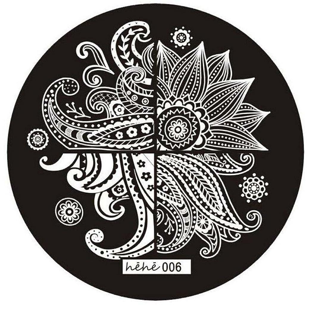 縁花瓶八百屋さんRETYLY 女の子のネイルアートパターンのイメージスタンプ プレートテンプレートマニキュア006