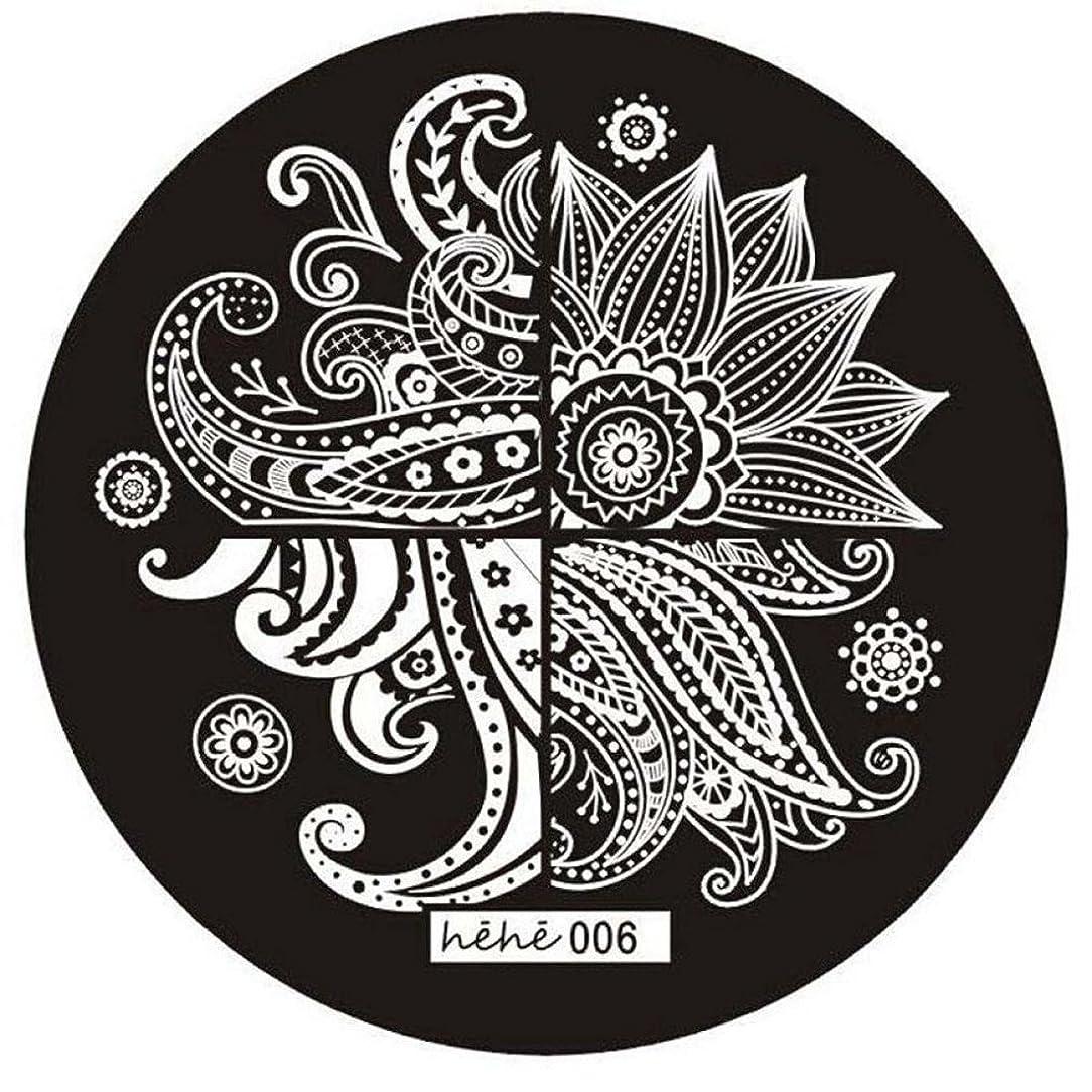 意図ダイアクリティカル劇作家RETYLY 女の子のネイルアートパターンのイメージスタンプ プレートテンプレートマニキュア006