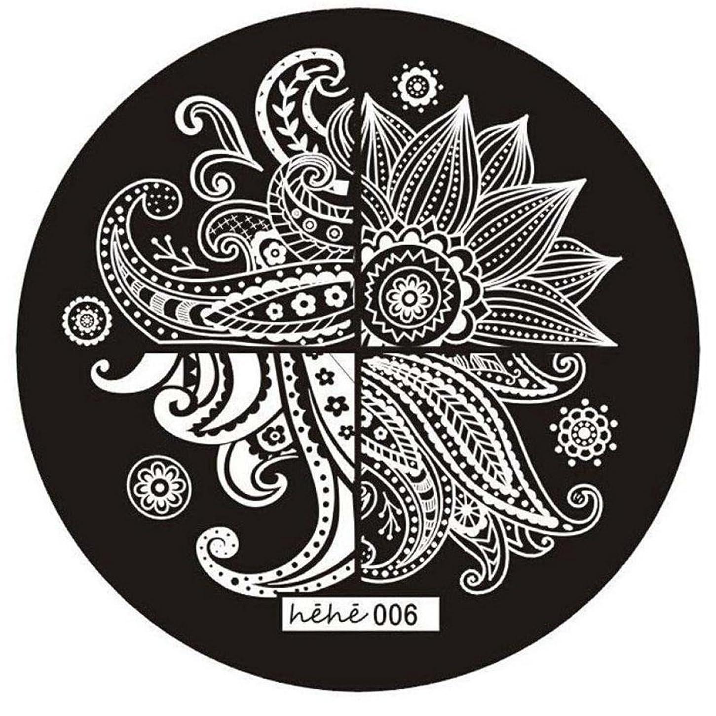 世代自慢遺体安置所SODIAL 女の子のネイルアートパターンのイメージスタンプ プレートテンプレートマニキュア006