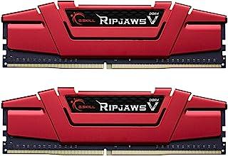 G.Skill 32GB (2 x 16GB) Ripjaws V Series DDR4 PC4-19200 2400MHz Intel Z170 Desktop Memory Model F4-2400C15D-32GVR