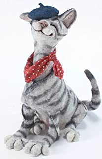 Retired Country Artists -Cat Wearing Beret - AB70122 - A Breed Apart