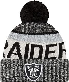 New Era Men's Men's Raiders 2017 Sideline Official Sport Knit Hat