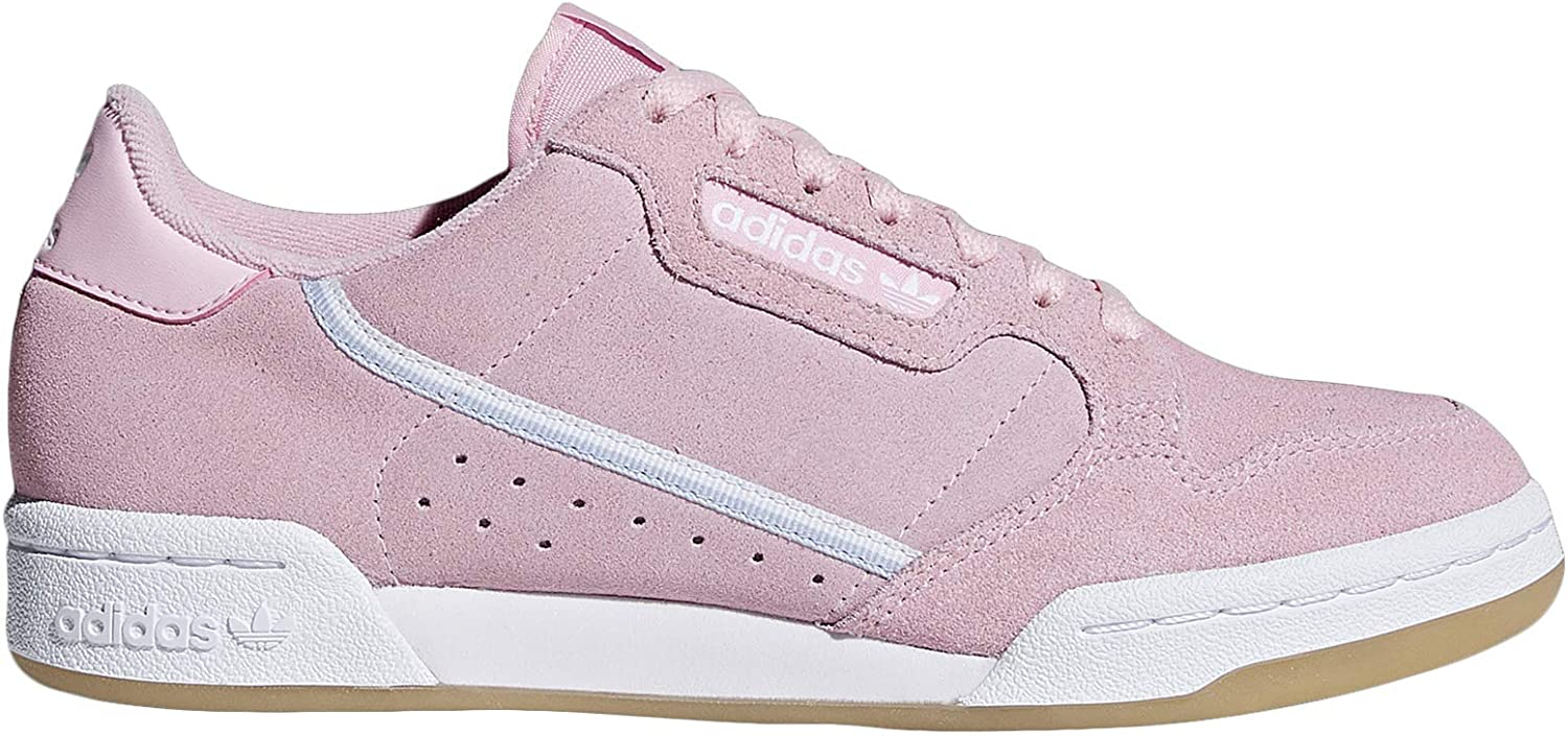 adidas Womens Continental 80 Lace Up Sneakers Shoes Casual - Pink - Size 11 B
