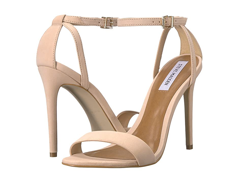 Steve Madden Lacey Dress Sandal (Blush Nubuck) Women