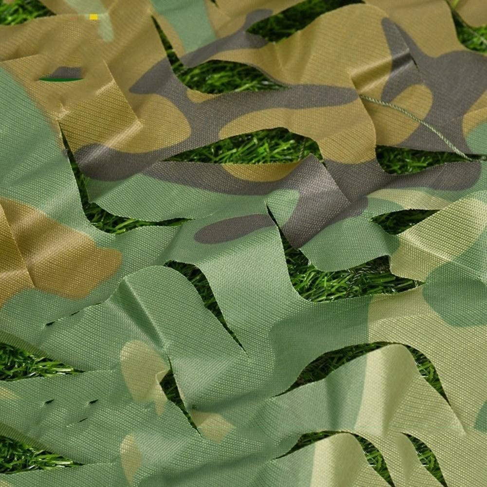 Camo Netting with Mesh Backing NEW 6X7m X 20ft 23ft Camoufl Denver Mall Jungle