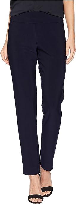 Microfiber Long Skinny Dress Pants