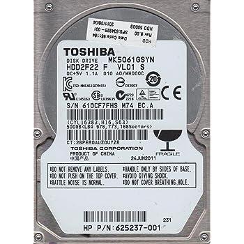 Toshiba MK5061GSYN 500 GB Internal Hard Drive (MK5061GSYN)