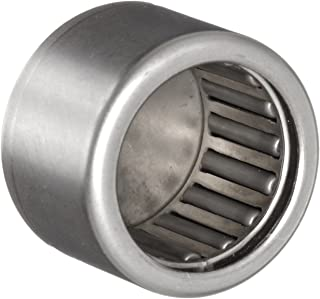 """INA BCE108 Needle Roller Bearing, Steel Cage, Closed End, Open, Inch, 5/8"""" ID, 13/16"""" OD, 1/2"""" Width, 17600rpm Maximum Rotational Speed, 2700lbf Static Load Capacity, 1830lbf Dynamic Load Capacity"""