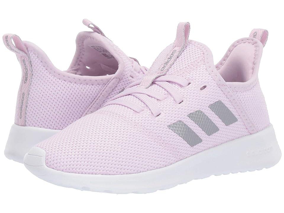 adidas Kids Cloudfoam Pure (Little Kid/Big Kid) (Aero Pink/Silver Metallic/Footwear White) Kid