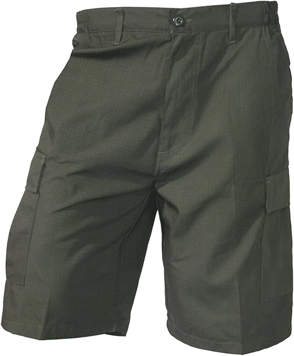 Ranking integrated 1st place Mafoose Mens Poly Cotton New item Ripstop Cargo Shorts
