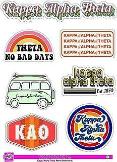 Best kappa alpha theta stickers Reviews