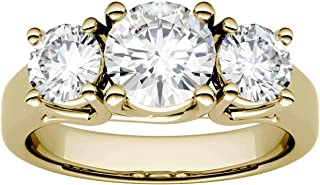 Best 3 carat moissanite ring cost Reviews