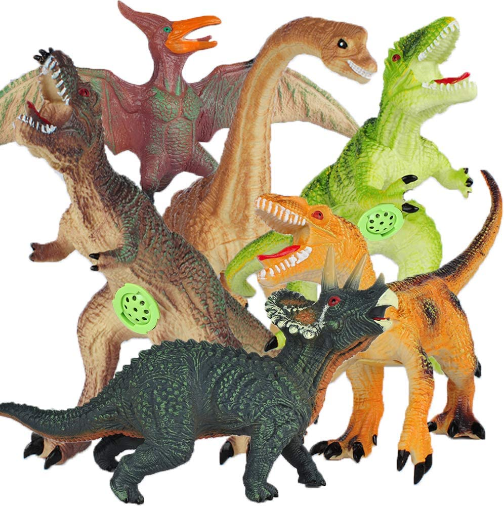 YAOASEN Jumbo Dinosaur Seasonal Wrap Introduction Toys Inc-T-Rex Sound Sale SALE% OFF with Triceratops 6