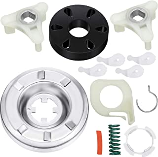 285785 Washer Clutch Kit and 285753A Motor Coupling Kit Including 4 Pieces 80040 Washer Agitator Dog, Compatible with Kenmore Washer